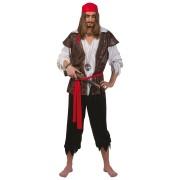 Pirat Karibisk one-size