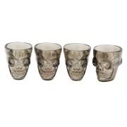 Shotglas 4p döskallar