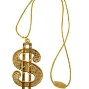 Dollar bling halsband