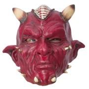 Latexmask djävul