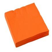 Servetter 2-lags 20p Orange