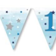 Vimpel 3,7m Twinkle little star 1 blue