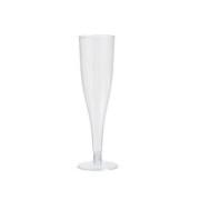 Champagneglas av plast 13,5cl 10-p