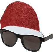 Glasögon Tomteluva med glitter