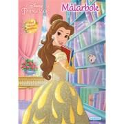 Målarbok Disneyprinsessor