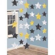 Dekorationsgirlanger stjärnor