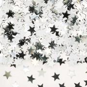 Konfetti 14g Stjänor silver