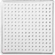 Pärlplatta stl. 7x7 cm, liten kvadrat