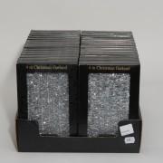 Glitter 4mx40mm silver