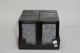 Glitter 4mx40mm silver -