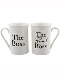 Mugg-set The real boss -