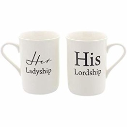 Mugg-set Her Ladyship His Lordship -
