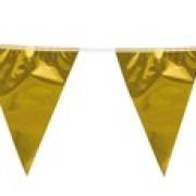 Vimpel 10m Guldmetallic