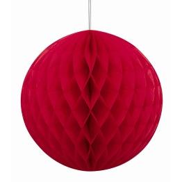 Honeycomb 20cm Red -