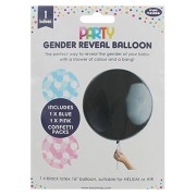 Gender reveal latexballong 40cm
