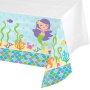 Duk av plast 137x259cm Mermaid friends