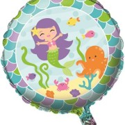 Folieballong 45cm Mermaid friends