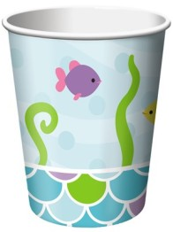 Pappersmuggar 266ml 8p Mermaid friends -