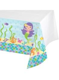 Duk av plast 137x259cm Mermaid friends -
