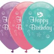 Ballonger 6p Mermaid happy birthday