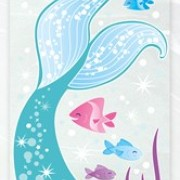 Cellofanpåsar 20p Mermaid party