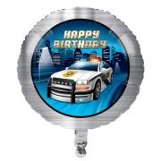 Folieballong 45cm Polis