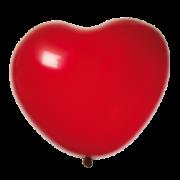 Hjärtballonger 38cm 8p Röd