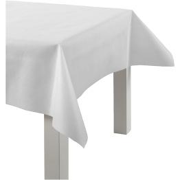 Duk av imiterat tyg B: 125 cm 10m (finns i flera färger) - Duk av imiterat tyg vit 10m