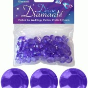 Bordsdiamanter 12mm Lavendel lila