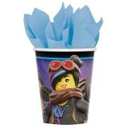 Pappersmuggar 266ml 8p Lego movie