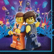 Servetter 33x33cm 16p Lego movie