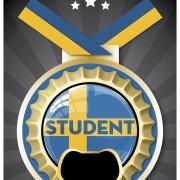 Medalj Student kapsylöppnare