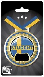 Medalj Student kapsylöppnare -