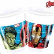 Muggar av plast 200ml 8p Ny Avengers