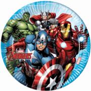 Papperstallrikar 23cm 8p Ny Avengers