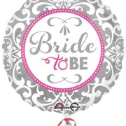 Folieballong 43cm Bride to be