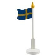 Bordsflagga av trä 24,5cm