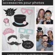 Photoprops 10 delar Bröllop