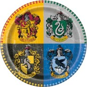 Papperstallrikar 21,9cm Harry Potter