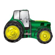 Folieballong supershape 71cm Traktor