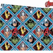Duk av plast 180x120cm Avengers