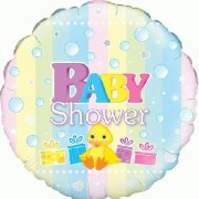 Folieballong 45cm Baby shower duckie