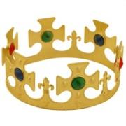 Krona av plast med strasstenar