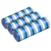Serpentiner 3p Blå toner