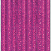 Papperssugrör 10p Rosa glitter