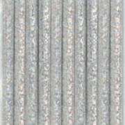 Sugrör av papper 10p Silver glitter