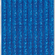Sugrör av papper 10p Blå glitter