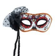 Mask Day of the dead/Sugarskull vuxen