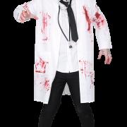 Dräkt Zombie doktor strl. L vuxen