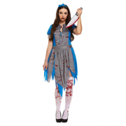 Dräkt blodig Alice vuxen